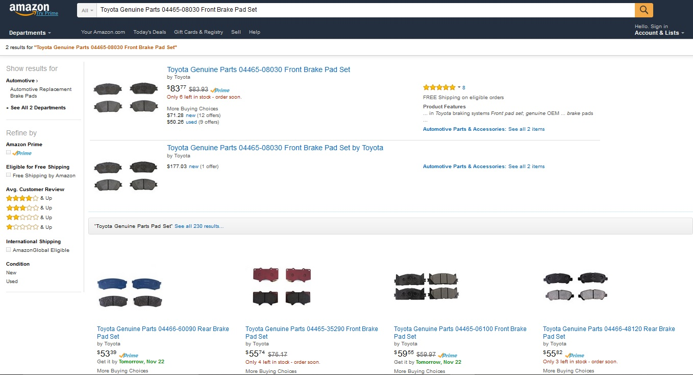 How To Sell Auto Parts On Amazon